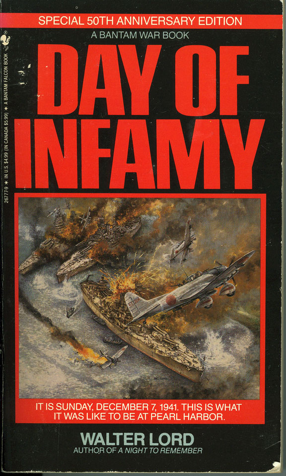 day of infamy essay Day of infamy examines what is possibly the most remembered day in american history author walter lord recounts the days and weeks leading up to the japanese attack of pearl  harbor though the eyes of the people closest to the action through his personal interviews with  survivors from the.