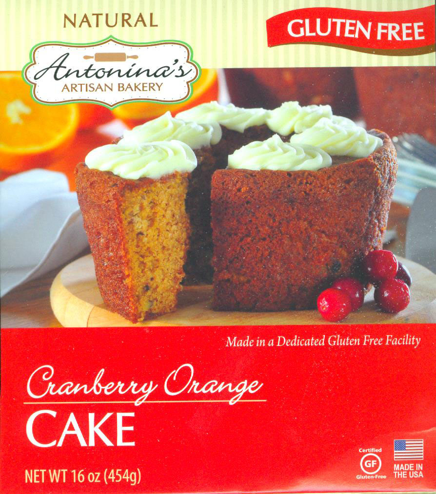 Antonina's Cranberry Orange Cake