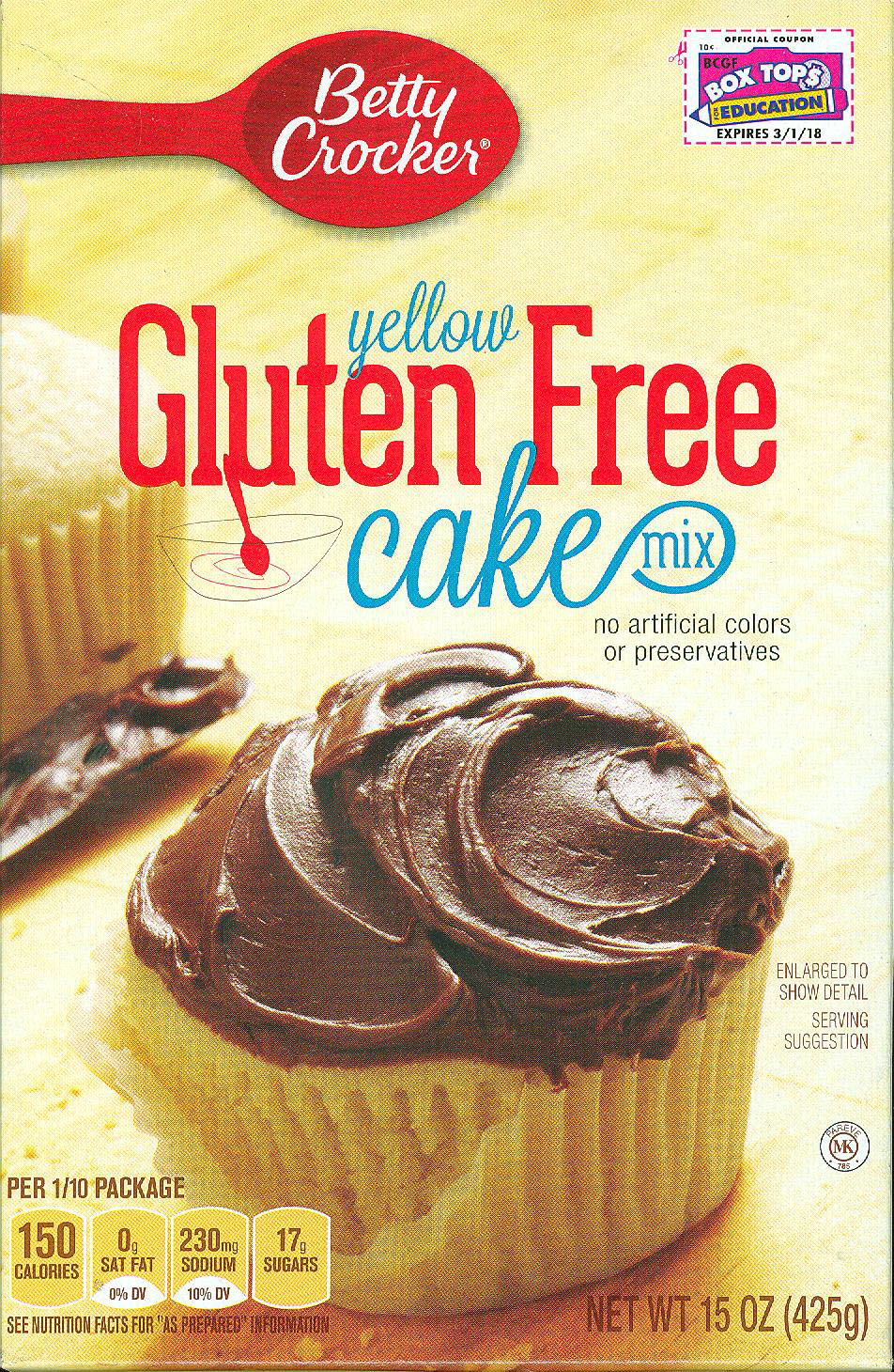 Betty Crocker Yellow Cake Mix - New Box?