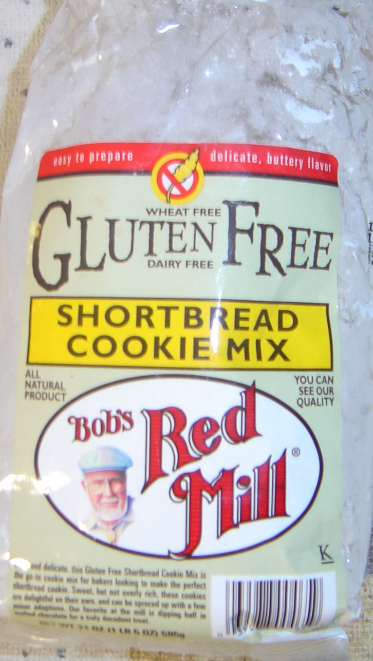 Bob's Red Mill Shortbread Cookie Mix
