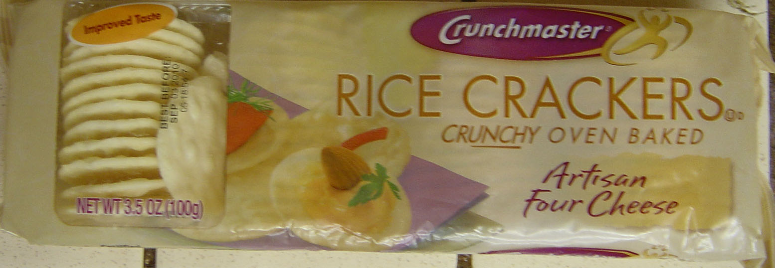 Crunchmaster Rice Crackers