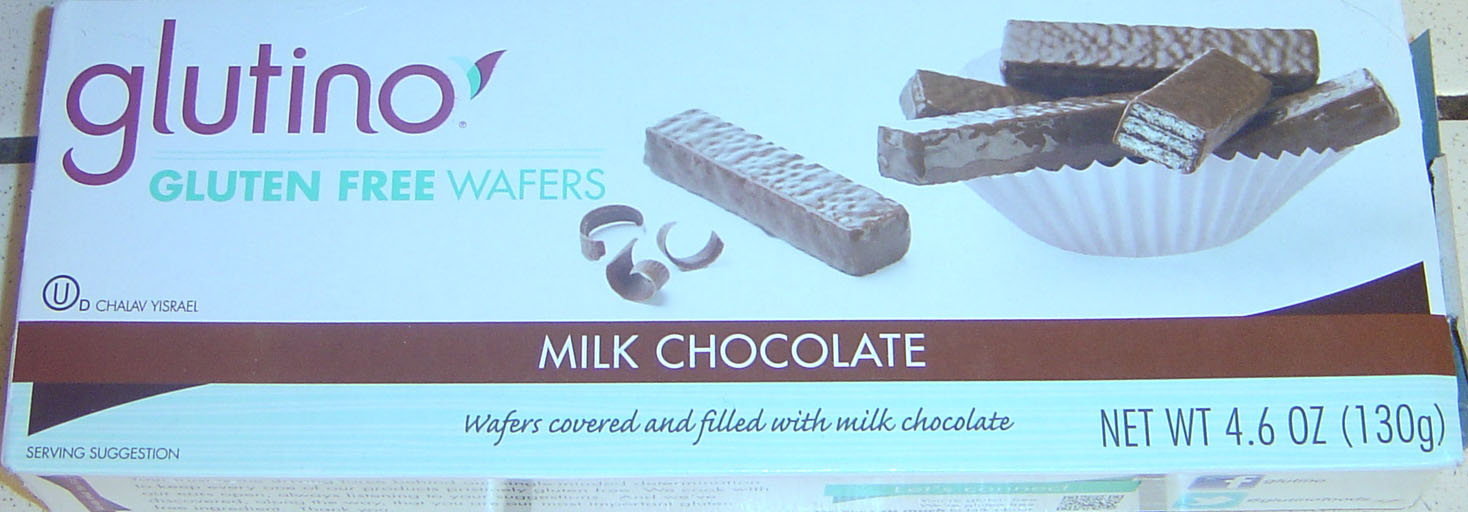 Glutino Milk Chocolate Wafers