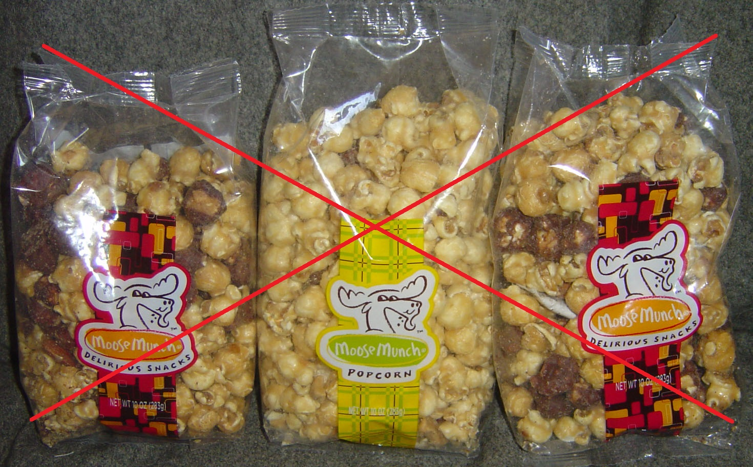Harry and David's Moose Munch