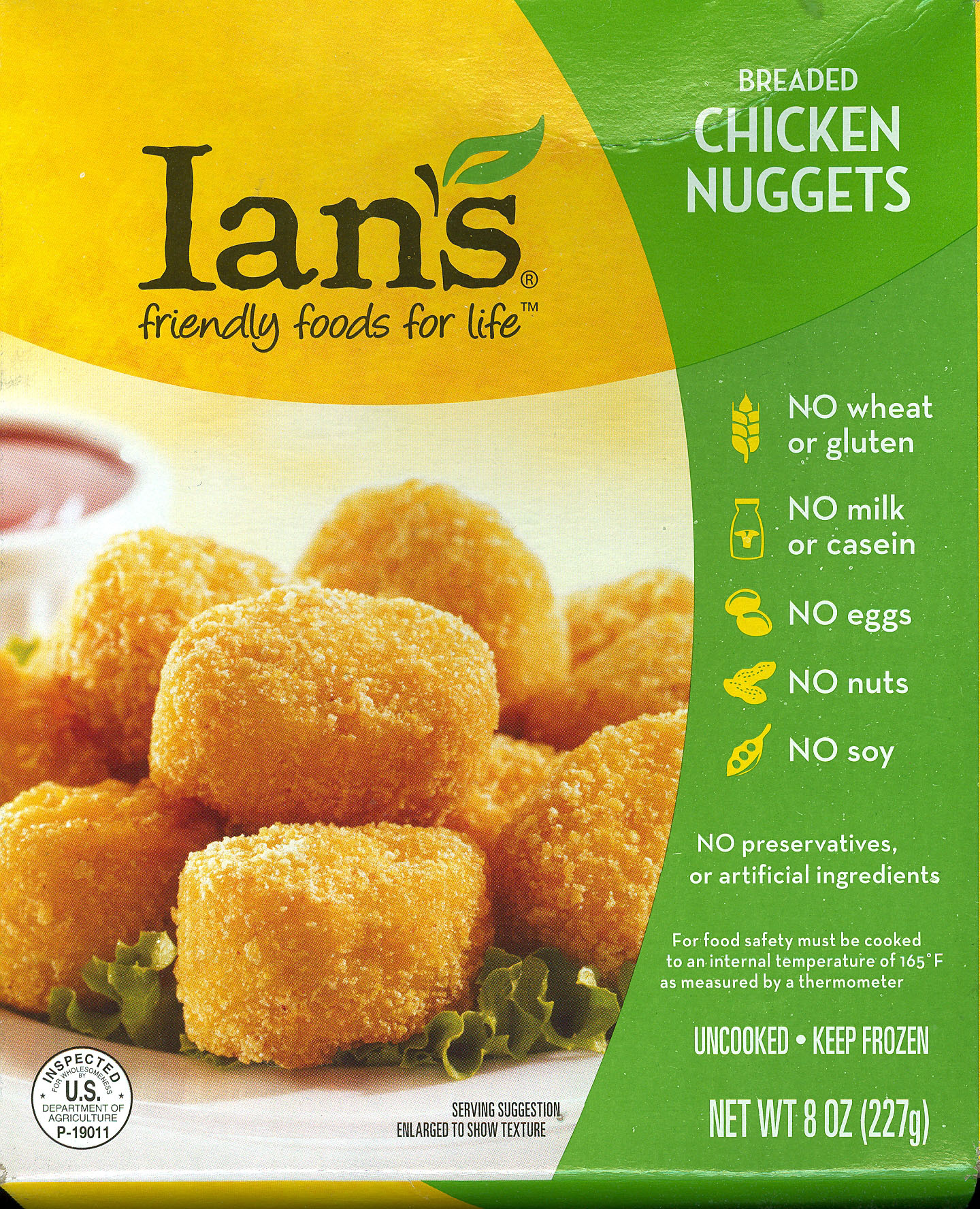 Ian's Breaded Chicken Nuggets