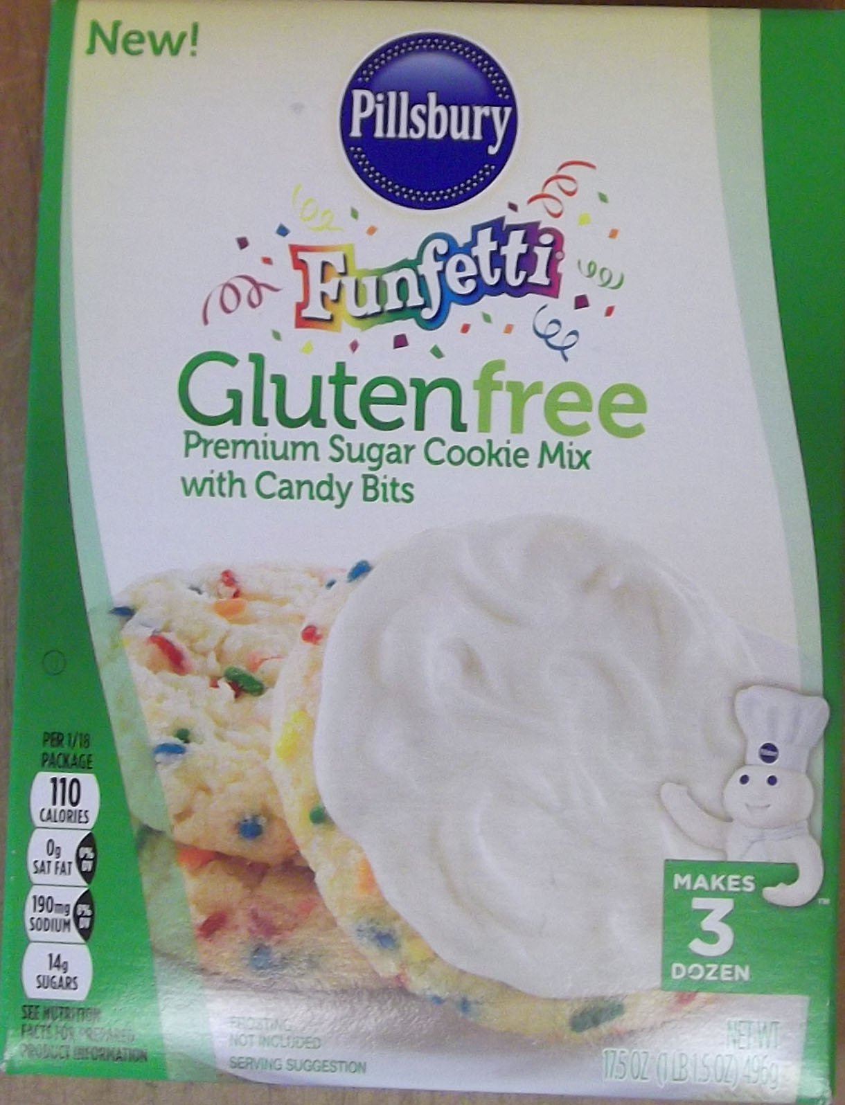 Pillsbury Funfetti Sugar Cookie Mix