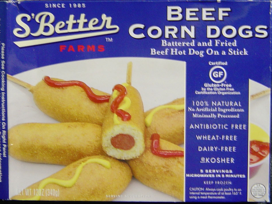 S'Better Beef Corn Dogs