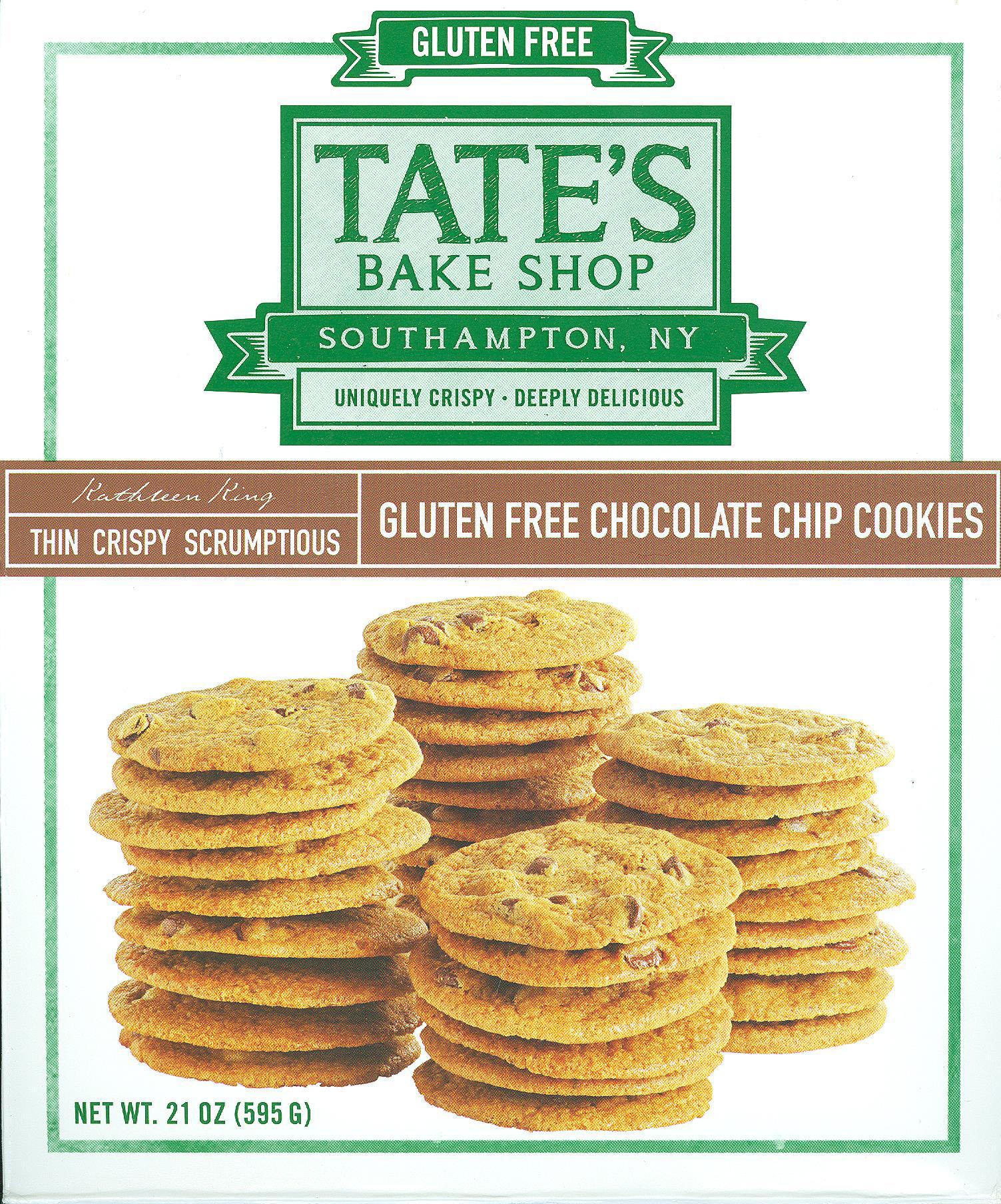 "Tate""s Chocolate Chip Cookies"