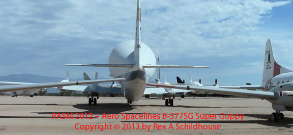 Aero Spacelines B-377SG Super Guppy
