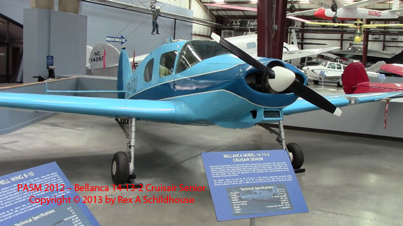 Bellanca 14-13-2 Cruisair Senior