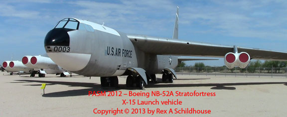 Boeing NB-52A Stratofortress