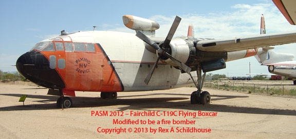 Fairchild C-119C Flying Boxcar