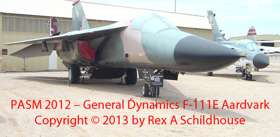 General Dynamics F-111E Aardvark