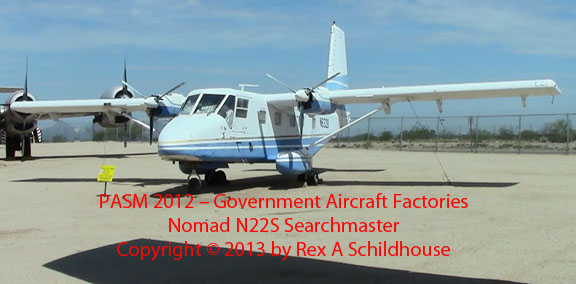 Government Aircraft Factories Nomad N22S Searchmaster
