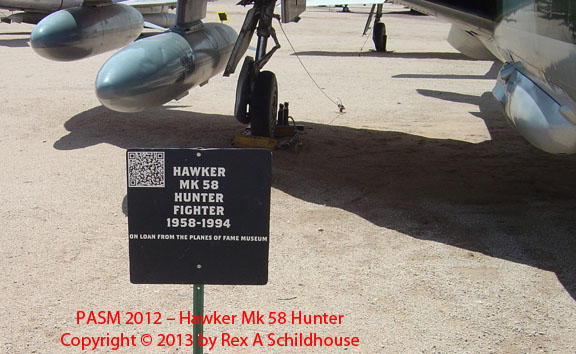 Hawker Mk 58 Hunter
