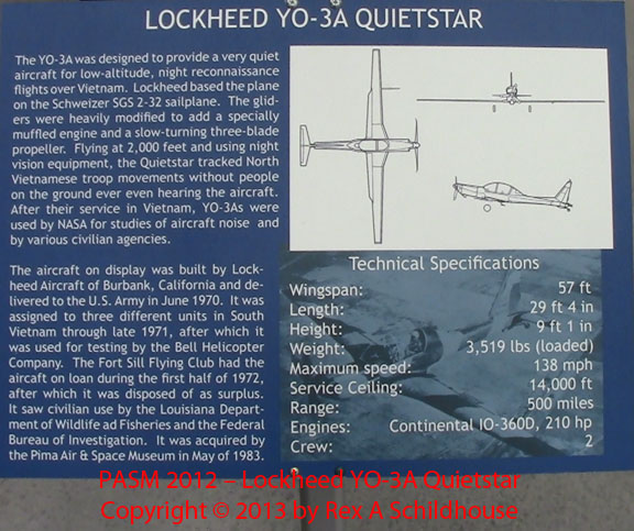 Lockheed YO-3A Quietstar