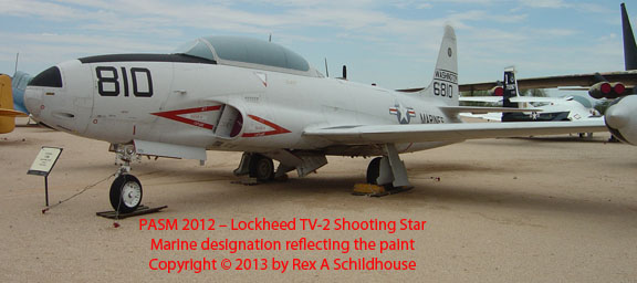 Lockheed TV-2 Shooting Star
