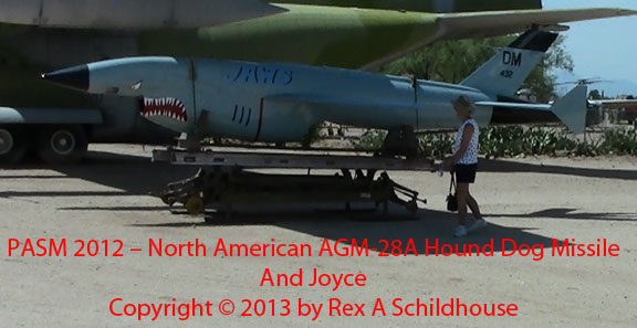 North American AGM-28A Hound Dog Missile