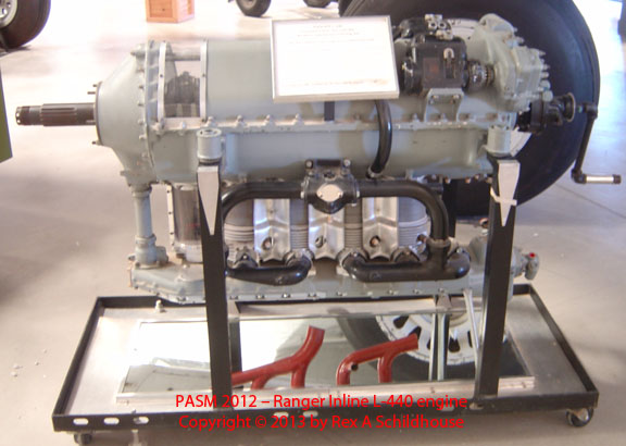 Ranger Inline L-440 engine