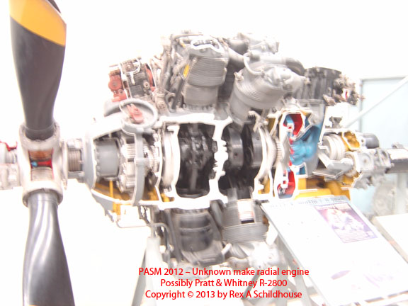 Possibly Pratt & Whitney R-2800