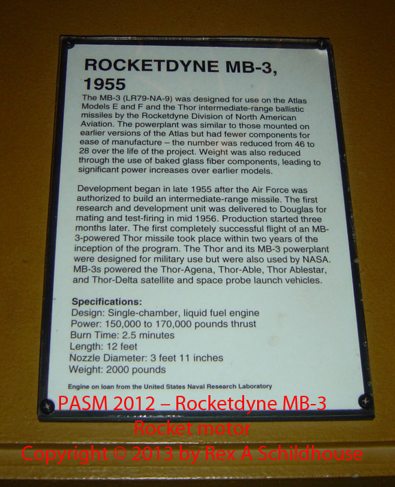 Rocketdyne MB-3
