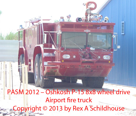 Oshkosh P-15 8x8 wheel drive